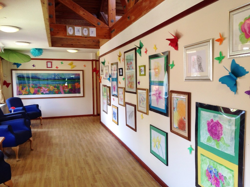 Appleby Tate, Appleby House Care Home, Art Sessions, Creative Minds