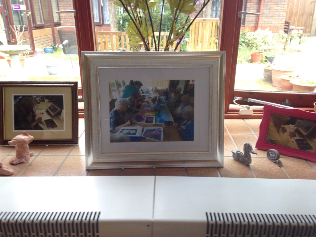 Appleby Tate, Appleby House Care Home, Art Sessions, Creative Minds 4