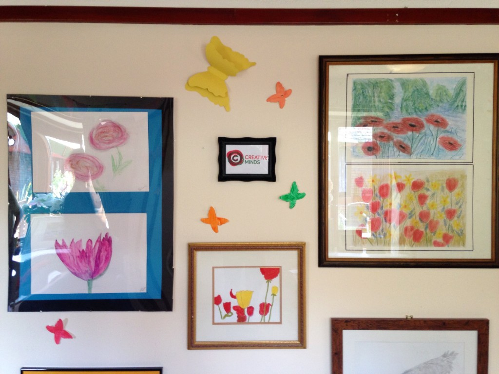 Appleby Tate, Appleby House Care Home, Art Sessions, Creative Minds 5