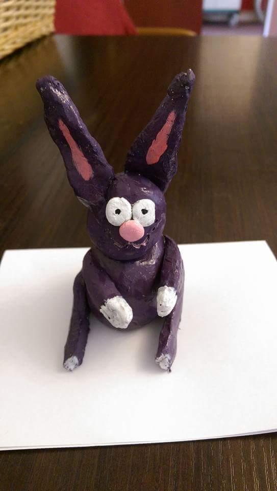 creative minds bunny - sarah jane