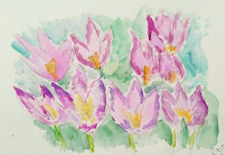 creative minds flower 2 - sarah jane