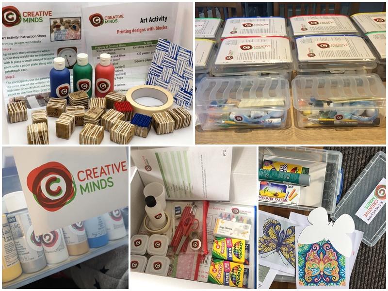 art activity boxes
